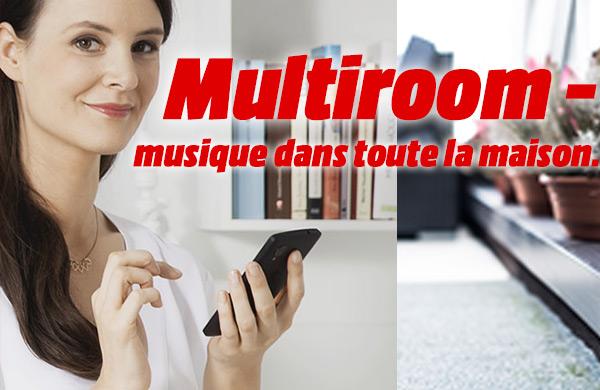 Multiroom - musique dans toute la maison
