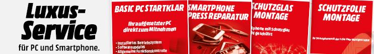 Luxus-Service für Smartphone und Tablet neu im Media Markt Basel