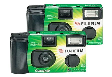 Caméras à usage unique