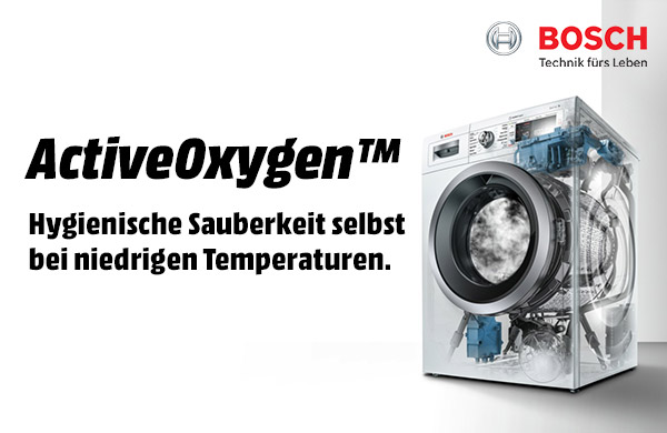 Bosch ActiveOxygen™