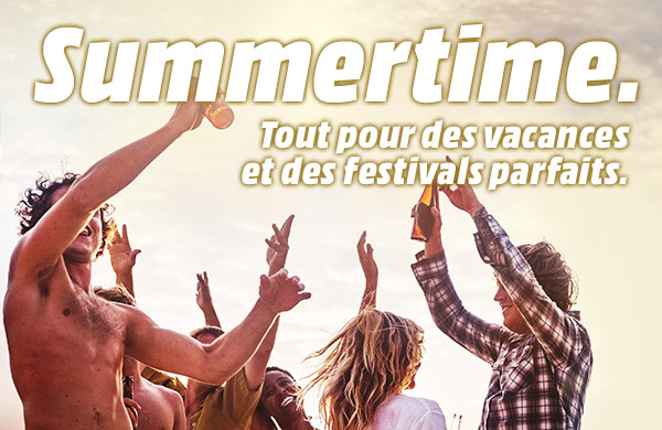 Summertime - Tout pour des vacances et des festivals parfaits.