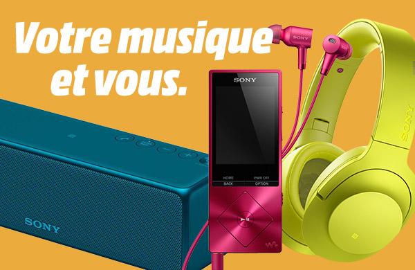 Sony Sound - Votre musique et vous.