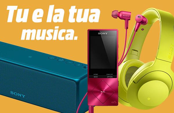 Sony Sound - Tu e la tua musica.